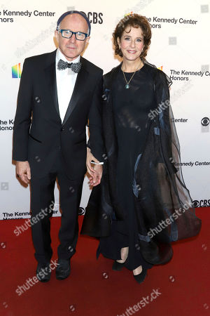 Arliss Howard, Debra Winger. Arliss Howard, left, and Debra Winger attend the 42nd Annual Kennedy Center Honors at The Kennedy Center, in Washington
