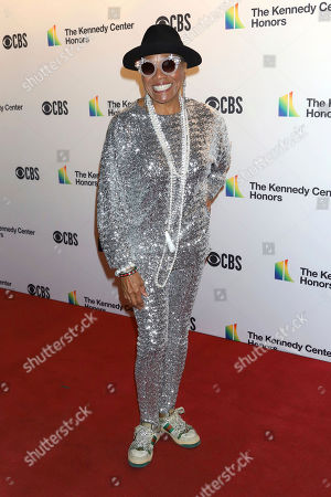 Stock Image of Dee Dee Bridgewater attends the 42nd Annual Kennedy Center Honors at The Kennedy Center, in Washington