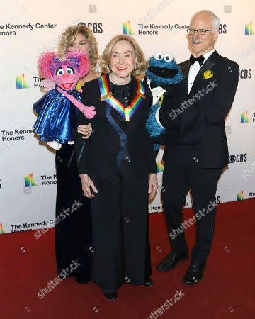 2019 Kennedy Center honoree, Sesame Street co-founder Joan Ganz Cooney attends the 42nd Annual Kennedy Center Honors at The Kennedy Center, in Washington