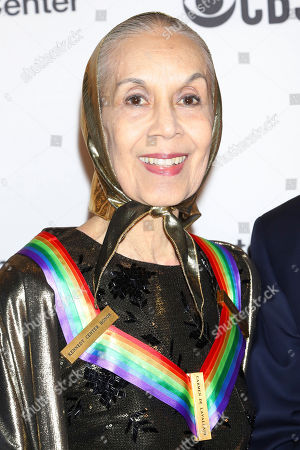 Carmen de Lavallade attends the 42nd Annual Kennedy Center Honors at The Kennedy Center, in Washington