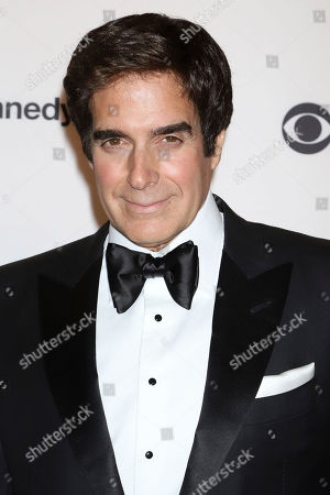 David Copperfield attends the 42nd Annual Kennedy Center Honors at The Kennedy Center, in Washington