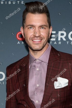 Andy Grammer attends the 13th annual CNN Heroes: An All-Star Tribute at the American Museum of Natural History, in New York
