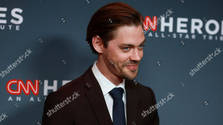 Tom Payne attends the 13th annual CNN Heroes: An All-Star Tribute at the American Museum of Natural History, in New York