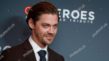 Stock Image of Tom Payne attends the 13th annual CNN Heroes: An All-Star Tribute at the American Museum of Natural History, in New York