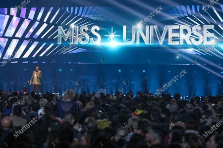 US comedian and show host Steve Harvey announces finalist during the 2019 Miss Universe pageant at Tyler Perry Studios in Atlanta, Georgia, USA, 08 December 2019.