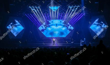 Al Pitrelli, Andrew Ross, Angus Clark, April Berry, Asha Mevlana, Ashley Hollister, Blas Elias, Bryan Hicks. Al Pitrelli, Andrew Ross, Angus Clark, April Berry, Asha Mevlana, Ashley Hollister, Blas Elias and Bryan Hicks with Trans-Siberian Orchestra performs at the Infinite Energy Center, in Atlanta