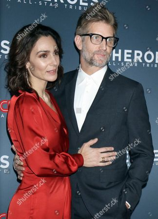 Stock Photo of Annie Parisse and Paul Sparks