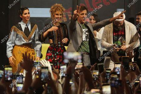 Editorial photo of 'Money Heist' TV show press conference, CCXP19, Sao Paulo, Brazil - 08 Dec 2019