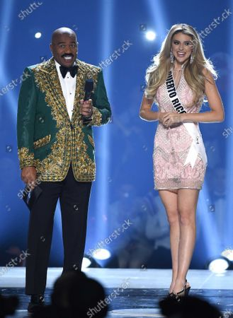 Steve Harvey and Madison Anderson