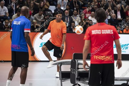 Editorial image of Teqball World Championship in Hungary, Budapest - 08 Dec 2019