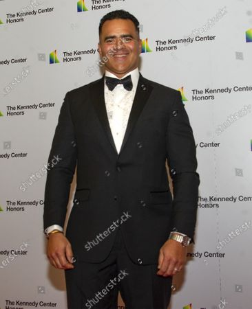 Stock Picture of Christopher Jackson who was nominated for a Tony for his portrayal of George Washington in the Broadway musical 'Hamilton', arrives for the formal Artist's Dinner honoring the recipients of the 42nd Annual Kennedy Center Honors at the United States Department of State in Washington, DC, USA, 07  December 2019 (Issued 08 December 2019). The 2019 honorees are Earth, Wind & Fire, Sally Field, Linda Ronstadt, Sesame Street, and Michael Tilson Thomas.