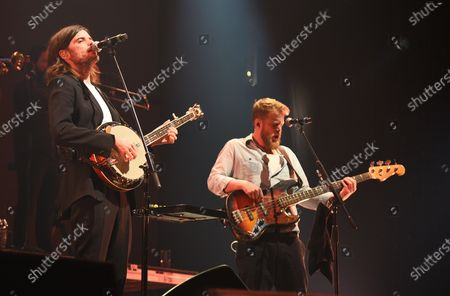 Stock Image of Mumford & Sons - Winston Marshall and Ted Dwane