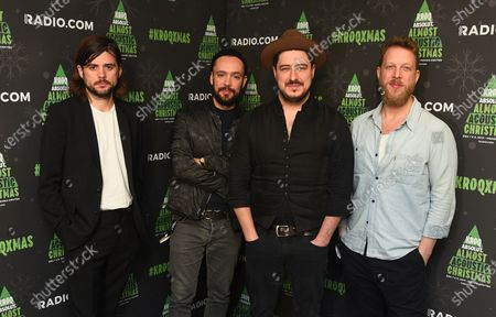Mumford & Sons - Winston Marshall, Ben Lovett, Marcus Mumford, and Ted Dwane