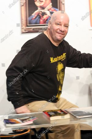 Jeff Ross at Roastmaster's in West Hollywood