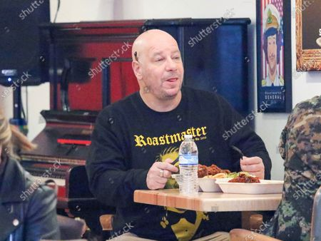Stock Photo of Jeff Ross at Roastmaster's in West Hollywood