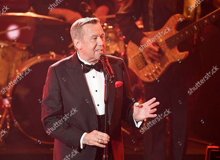 "Stock Image of Singer Roland Kaiser performs during the charity gala ""Ein Herz fuer Kinder"" (a heart for children) in Berlin, Germany"