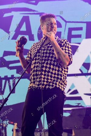 Stock Picture of Cold War Kids - Nathan Willett