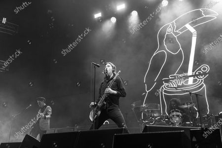 Catfish and the Bottlemen - Johnny Bond, Van McCann and Bob Hall