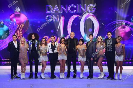 Editorial image of 'Dancing On Ice' TV show, Series 11 launch photocall, Old Bovingdon Airfield, Hertfordshire, UK - 09 Dec 2019