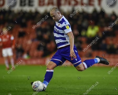 11th December 2019, Oakwell, Barnsley, England; Sky Bet Championship, Barnsley v Reading : Charlie Adam (26) of Reading FC Credit: Dean Williams/News Images