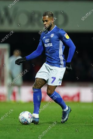 Stock Photo of Leandro Bacuna of Cardiff City