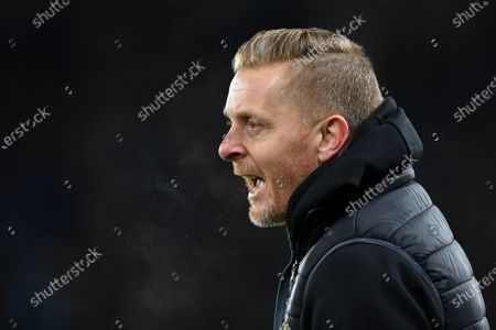 11th December 2019, Pride Park Stadium, Derby, England; Sky Bet Championship, Derby County v Sheffield Wednesday : Manager of Sheffield United, Gary Monk shouts instructions to his players 