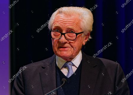 The Rt Hon The Michael Heseltine, Conservative politician and former cabinet minister during a rally at the Mermaid Theatre to encourage tactical voting in the upcoming general election and demand a public vote on the outcome of Brexit on 06 December, 2019 in London, England. The rally, organised by the Vote for a Final Say campaign and For our Future's Sake, takes place ahead of the last week of campaigning for the 12 December General Election.