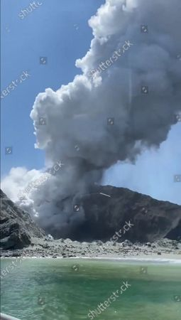 Editorial picture of New Zealand's White Island volcano erupts - 09 Dec 2019