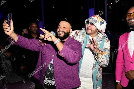 DJ Khaled, Fat Joe and Tyson Beckford