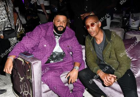 DJ Khaled and Larry Jackson