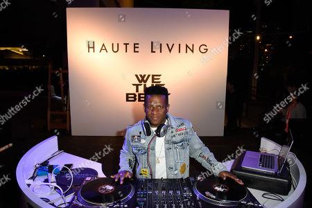 Stock Image of DJ Nasty
