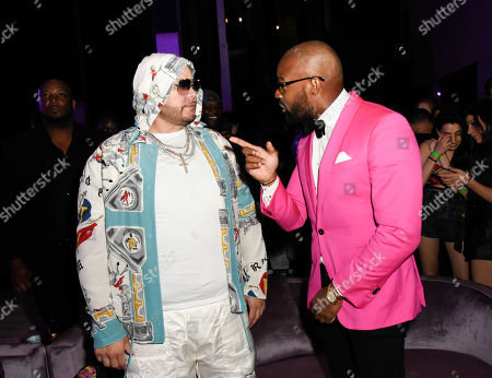 Fat Joe and Tyson Beckford
