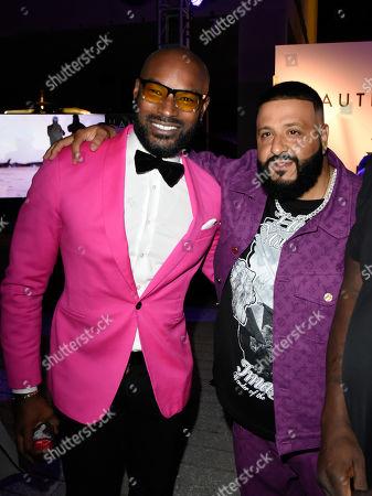 Tyson Beckford and  DJ Khaled