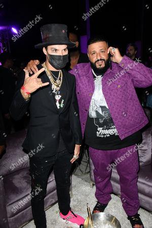 Alec Monopoly and DJ Khaled