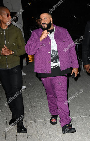 Larry Jackson and DJ Khaled