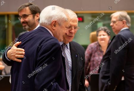 Editorial image of EU Foreign Ministers, Brussels, Belgium - 09 Dec 2019
