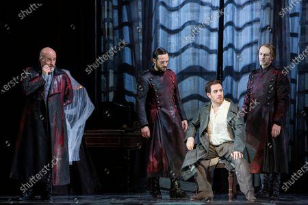 Editorial picture of 'La Tosca' Opera by Giacomo Puccini, La Scala Opera Theatre, Milan, Italy - 01 Dec 2019