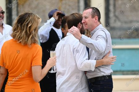 Kate Garraway, Andrew Maxwell and Andy Whyment