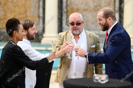 Adele Roberts, Andrew Maxwell, Cliff Parisi and James Haskell
