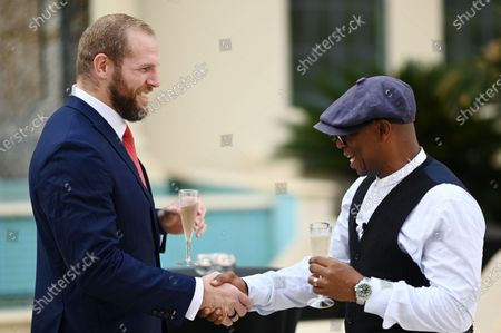James Haskell and Ian Wright