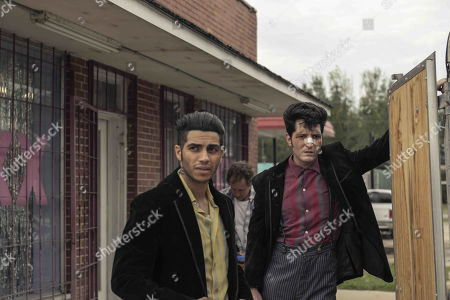 Mena Massoud as Ethan Hart and David Dastmalchian as Johnson