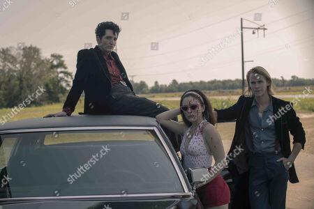 David Dastmalchian as Johnson, Madison Davenport as Meredith and Rhys Wakefield as Matty