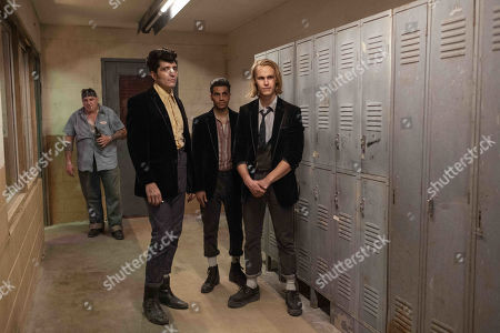 David Dastmalchian as Johnson, Mena Massoud as Ethan Hart and Rhys Wakefield as Matty