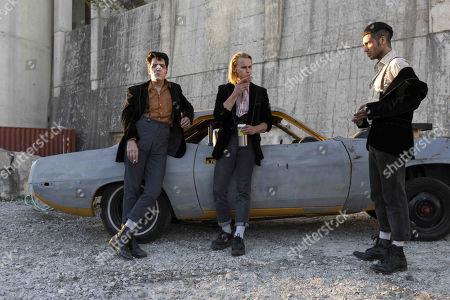 David Dastmalchian as Johnson, Rhys Wakefield as Matty and Mena Massoud as Ethan Hart