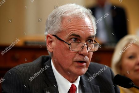 Rep. Tom McClintock, R-Calif., speaks as the House Judiciary Committee hears investigative findings in the impeachment inquiry of President Donald Trump, on Capitol Hill in Washington