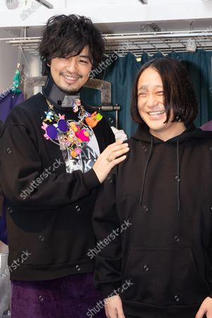 Stock Image of Takumi Saito and Nagano