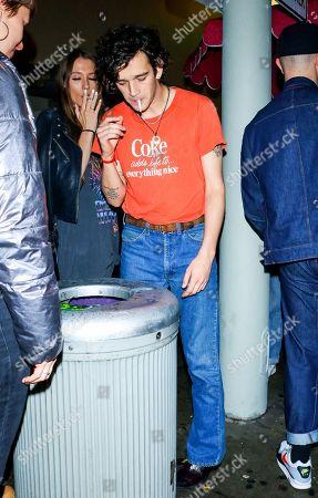 Matthew Healy outside Delilah nightclub in West Hollywood