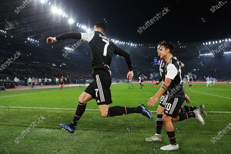 Cristiano Ronaldo after the goal