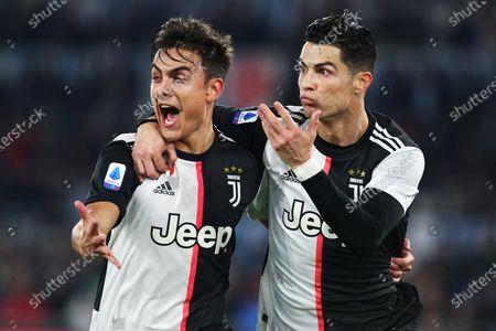 Editorial image of Lazio v Juventus, Serie A football match, Stadio Olimpico, Rome, Italy - 07 Dec 2019
