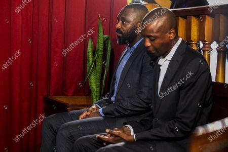 Editorial photo of Trial of Jose Filomeno dos Santos and BNP governor  in Luanda, Angola - 09 Dec 2019